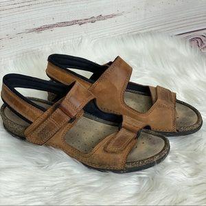 ECCO Cosmo Leather Sandals 40 / 10